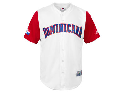 Dominican Republic Majestic MLB Men's World Baseball Classic Replica Cool Base Jersey