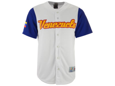 Venezuela Majestic MLB Men's World Baseball Classic Replica Cool Base Jersey