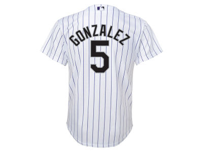 Colorado Rockies Carlos Gonzalez MLB Youth Player Replica CB Jersey