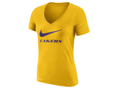 Los Angeles Lakers Nike NBA Women's Swoosh T-Shirt
