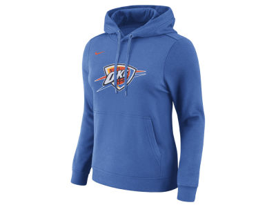 Oklahoma City Thunder Nike NBA Women's Logo Hooded Sweatshirt