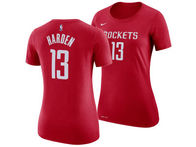 Houston Rockets James Harden Nike NBA Women's Name and Number Player T-Shirt