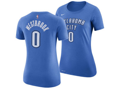 Oklahoma City Thunder Russell Westbrook Nike NBA Women's Name and Number Player T-Shirt