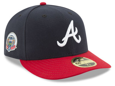 Atlanta Braves New Era 2017 Inaugural Season Patch 59FIFTY Low Profile Cap