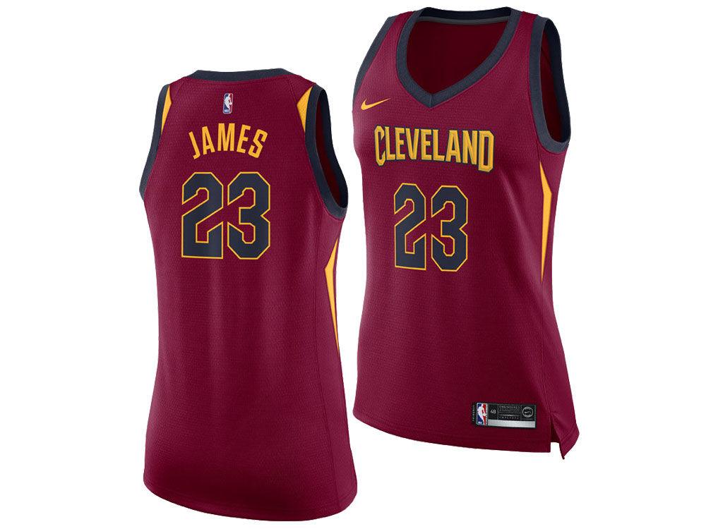 Cleveland Cavaliers LeBron James Nike NBA Women s Swingman Jersey ... b1b62c873b