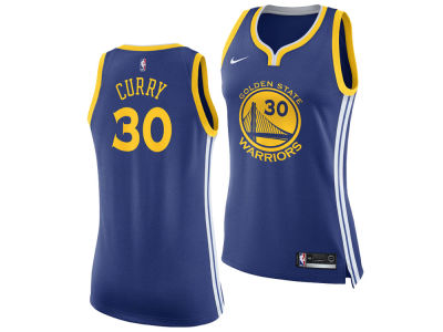 Golden State Warriors Stephen Curry Nike NBA Women's Swingman Jersey