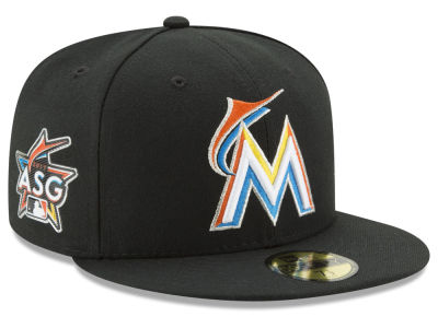 Miami Marlins New Era MLB 2017 Miami ASG Patch 59FIFTY Cap