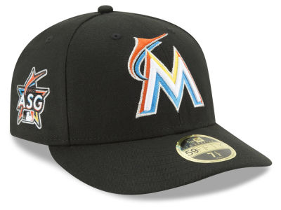 Miami Marlins New Era MLB Miami ASG Patch 59FIFTY Low Profile