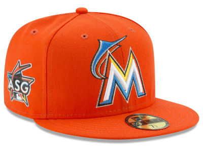 Miami Marlins New Era MLB 2017 Miami Kids ASG Patch 59FIFTY Cap