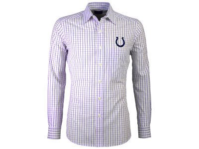 Indianapolis Colts Antigua NFL Men's Affiliate Button Up