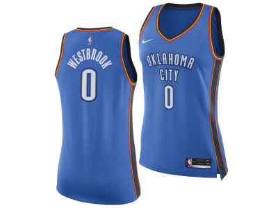 Oklahoma City Thunder Russell Westbrook Nike NBA Women's Swingman Jersey