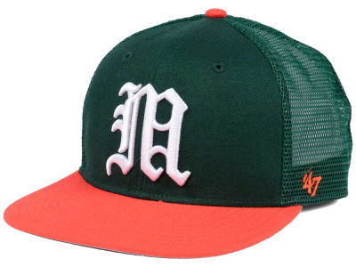 Miami Hurricanes '47 NCAA Gambino CAPTAIN Cap