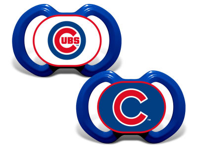 Chicago Cubs Forever Collectibles 2-pack Pacifier Set