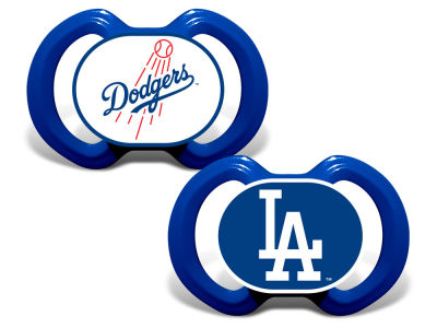 Los Angeles Dodgers Baby Fanatic 2-pack Pacifier Set