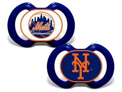 New York Mets Baby Fanatic 2-pack Pacifier Set