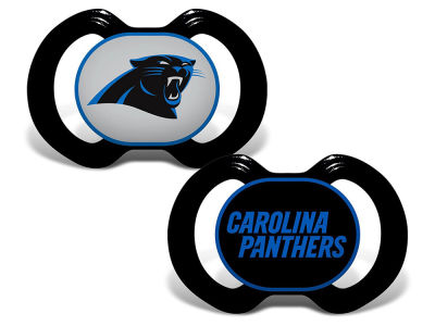 Carolina Panthers Baby Fanatic 2-pack Pacifier Set