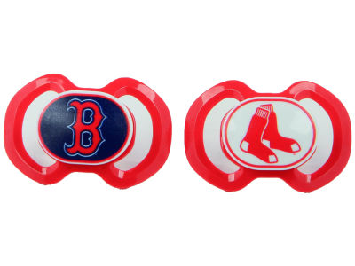 Boston Red Sox Baby Fanatic 2-pack Pacifier Set