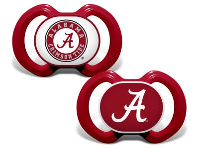 Alabama Crimson Tide Baby Fanatic 2-pack Pacifier Set