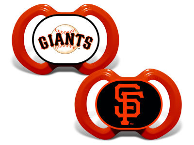 San Francisco Giants Baby Fanatic 2-pack Pacifier Set