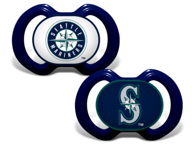 Seattle Mariners Baby Fanatic 2-pack Pacifier Set
