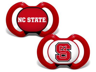 North Carolina State Wolfpack Baby Fanatic 2-pack Pacifier Set