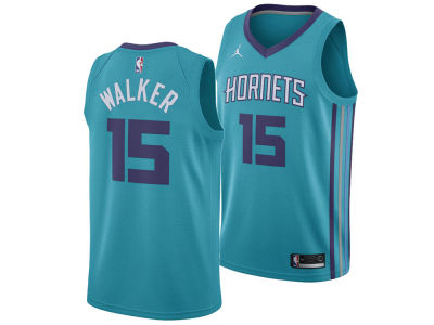 Charlotte Hornets Kemba Walker Jordan NBA Men's Icon Swingman Jersey