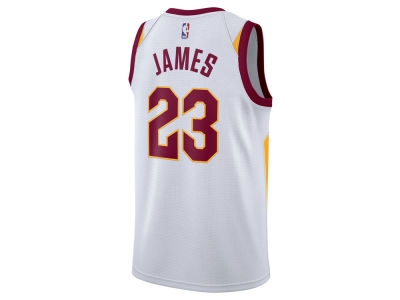 Cleveland Cavaliers LeBron James Nike NBA Men's Association Swingman Jersey