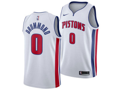 Detroit Pistons Andre Drummond Nike NBA Men's Association Swingman Jersey