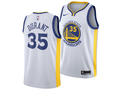 Golden State Warriors Kevin Durant Nike NBA Men's Association Swingman Jersey