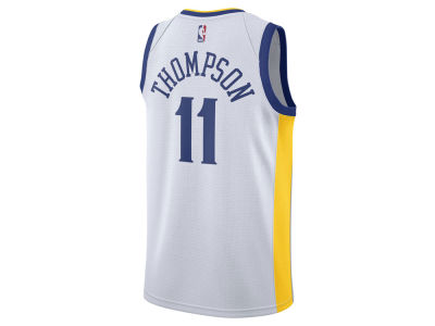 Golden State Warriors Klay Thompson Nike NBA Men's Association Swingman Jersey