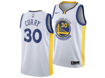 Golden State Warriors Stephen Curry Nike NBA Men's Association Swingman Jersey