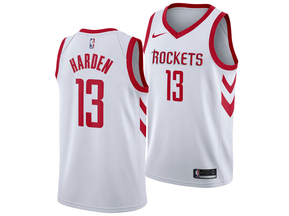 Houston Rockets James Harden Nike NBA Men s Association Swingman Jersey. Houston  Rockets James ... 1efc1a2e0