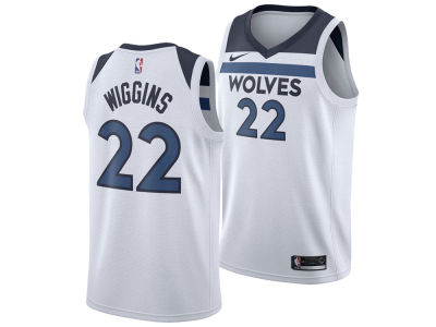 Minnesota Timberwolves Andrew Wiggins Nike NBA Men's Association Swingman Jersey