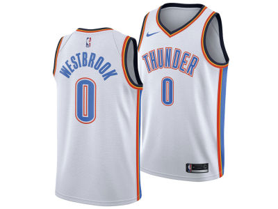 Oklahoma City Thunder Russell Westbrook Nike NBA Men's Association Swingman Jersey