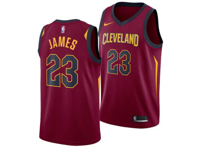 Cleveland Cavaliers LeBron James Nike NBA Men's Icon Swingman Jersey
