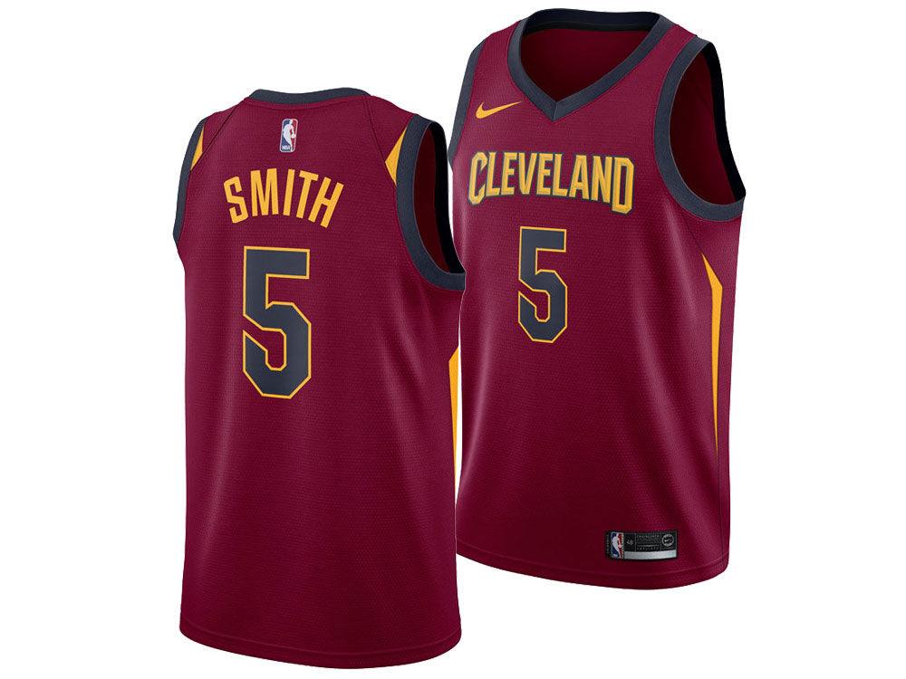 Cleveland Cavaliers J. R. Smith Nike NBA Men s Icon Swingman Jersey 4fc679312