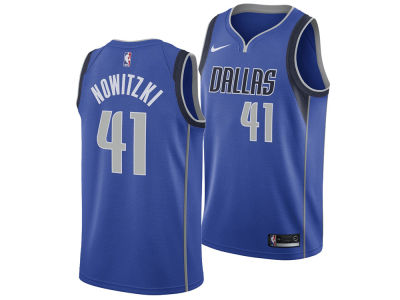 Dallas Mavericks Dirk Nowitzki Nike NBA Men's Icon Swingman Jersey