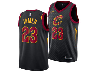 Cleveland Cavaliers LeBron James Nike NBA Men's Statement Swingman Jersey