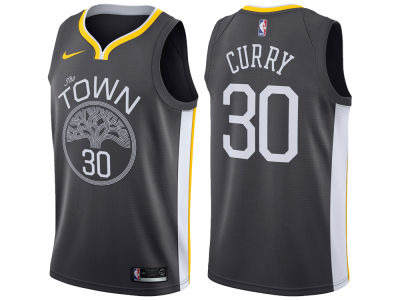 Golden State Warriors Stephen Curry Nike NBA Men's Statement Swingman Jersey