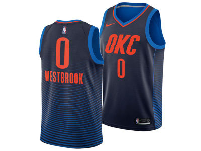 Oklahoma City Thunder Russell Westbrook Nike NBA Men's Statement Swingman Jersey