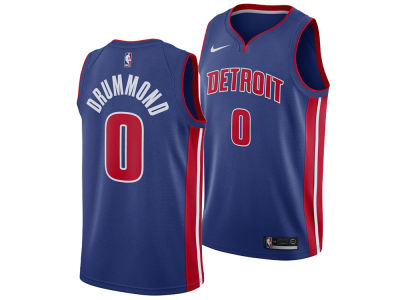 Detroit Pistons Andre Drummond Nike NBA Men's Icon Swingman Jersey