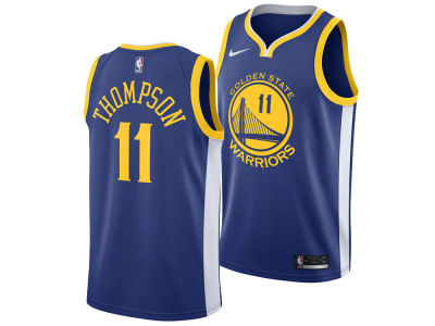 Golden State Warriors Klay Thompson Nike NBA Men's Icon Swingman Jersey