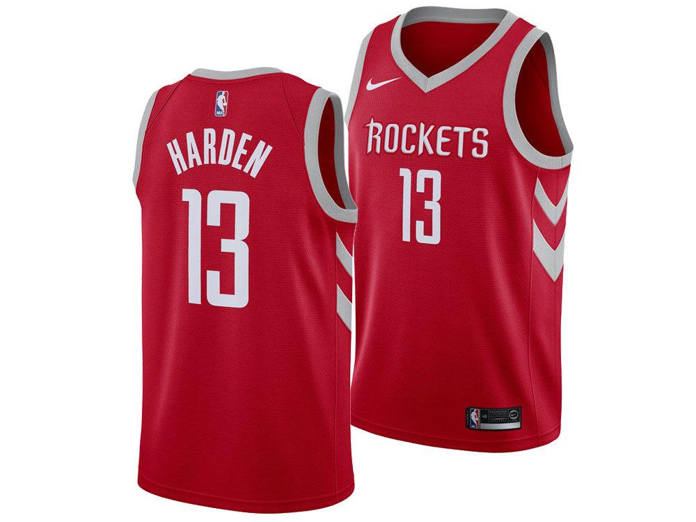 204149d7f Houston Rockets James Harden Nike NBA Men s Icon Swingman Jersey ...