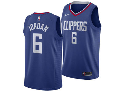 Los Angeles Clippers DeAndre Jordan Nike NBA Men's Icon Swingman Jersey