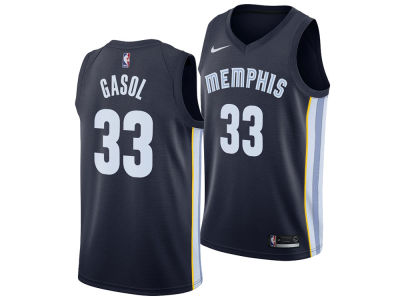 Memphis Grizzlies Marc Gasol Nike NBA Men's Icon Swingman Jersey