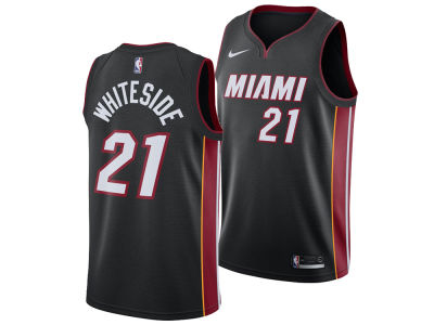 Miami Heat Hassan Whiteside Nike NBA Men's Icon Swingman Jersey
