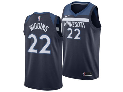 Minnesota Timberwolves Andrew Wiggins Nike NBA Men's Icon Swingman Jersey