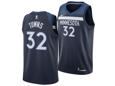 Minnesota Timberwolves Karl-Anthony Towns Nike NBA Men's Icon Swingman Jersey