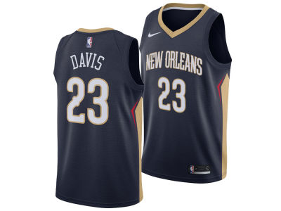 New Orleans Pelicans Anthony Davis Nike NBA Men's Icon Swingman Jersey