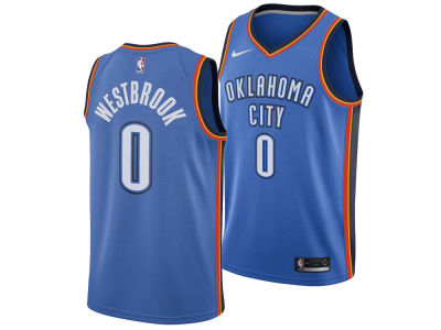 Oklahoma City Thunder Russell Westbrook Nike NBA Men's Icon Swingman Jersey